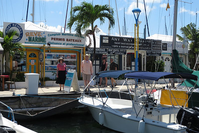 We decided to book a private boat back to the cruise ship pier.  Ted and Sheila check out the boat.